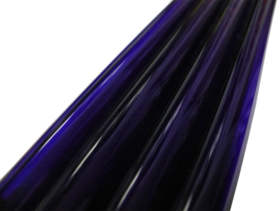 Asian 38mm Light Cobalt Blue Tubing