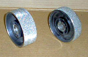 "NICKEL PLATED  WHEEL4"" GRIT60"