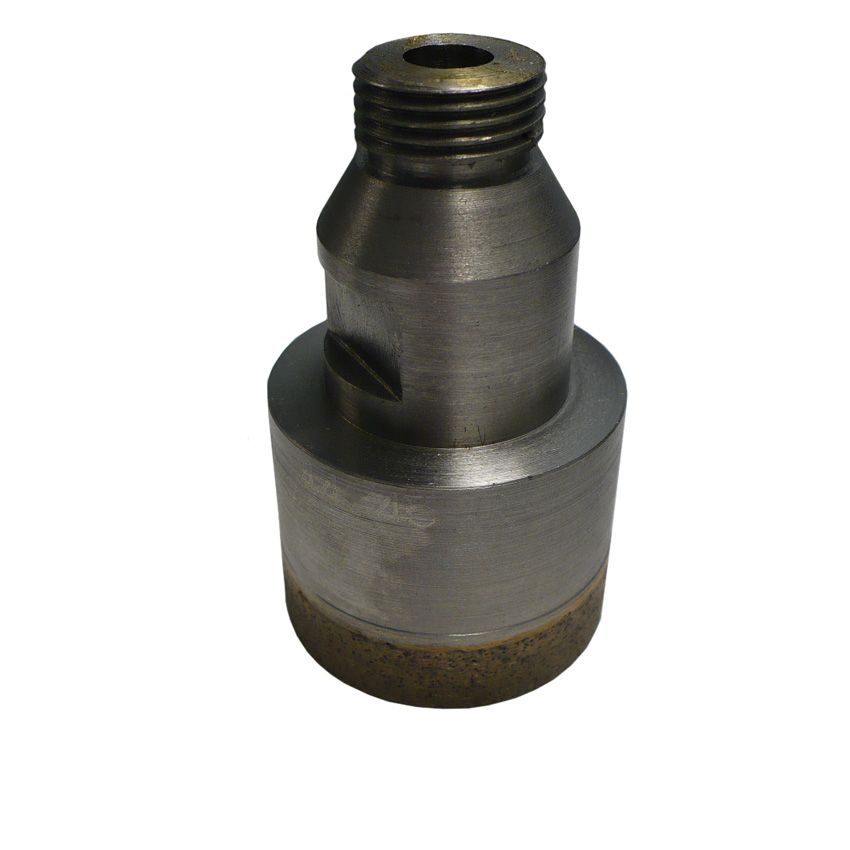 "1 3/4(45mm)"" Sintered Threaded Bit"
