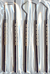 "5 pc. 6"" Stainless Steel Pick Set"