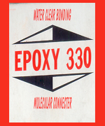 Epoxy 330 Extreme Glass Cement