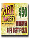 ABR Gift Certificate - $50