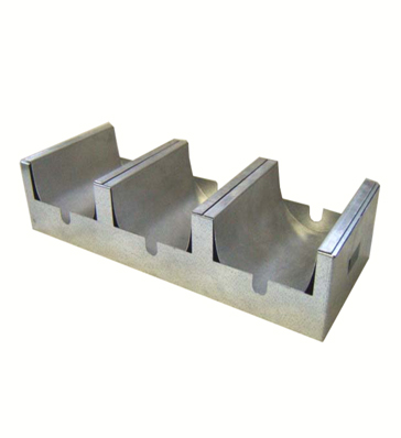 Griffin 3-Section Frit Tray