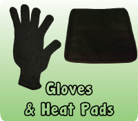 GLOVES & HEAT PADS