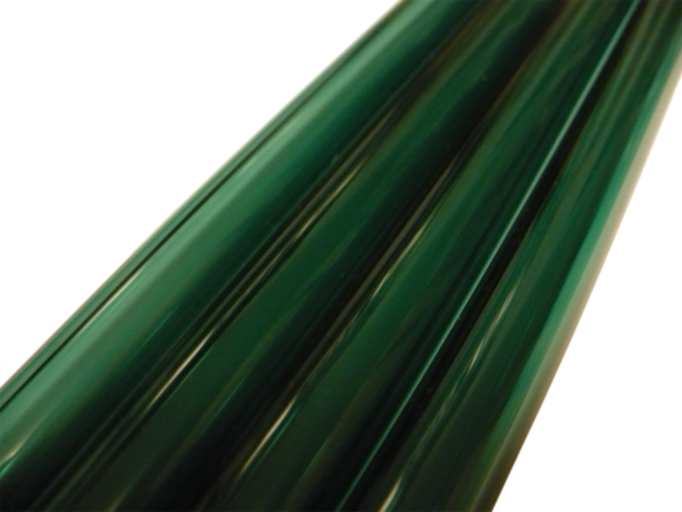 Asian 12mm Transparent Green Tubing