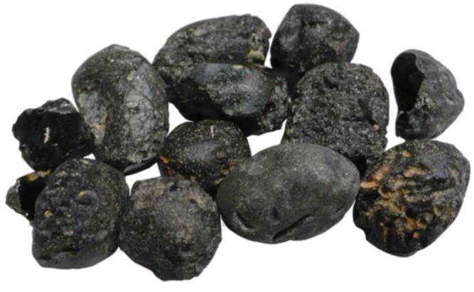 Black Tektites (Indochinites)