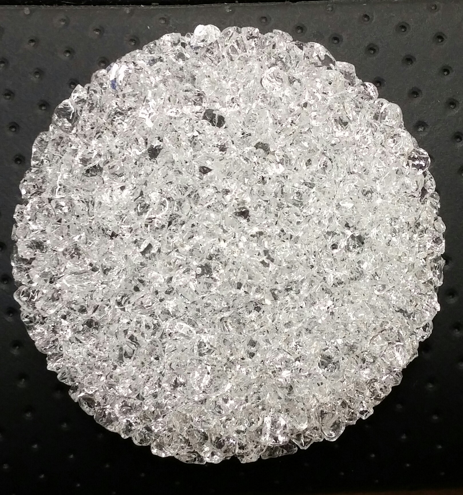 50mm Clear Fritted Disc