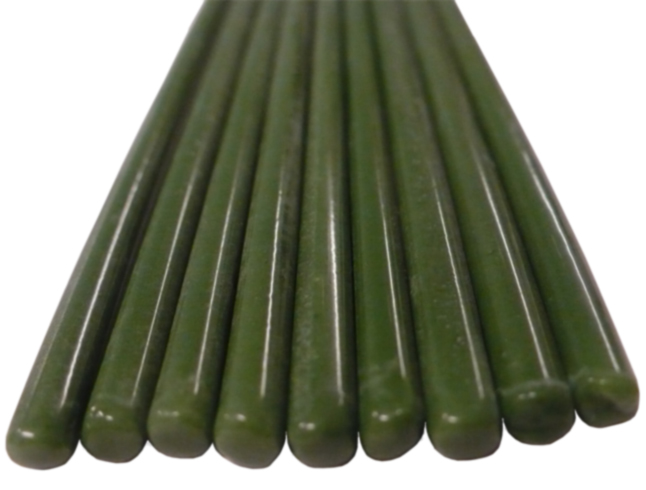 Green Borosilicate Bars (Indian)