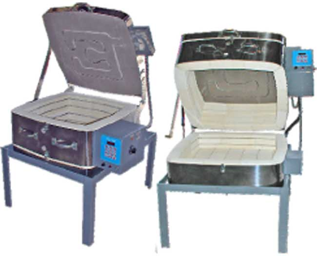 Olympic GF2 Top & Clamshell Kiln