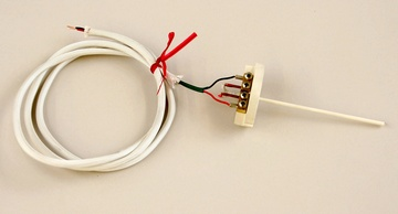 "Thermocouple S-type for 2.5-3"" wall"