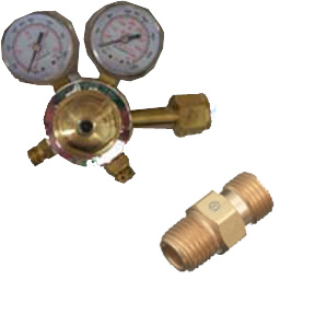 "Inline Oxygen Regulator w/ 1/4"" B"