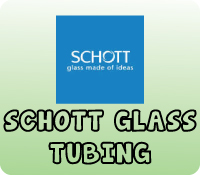 Schott 50mm x 5.0mm Clear Tubing