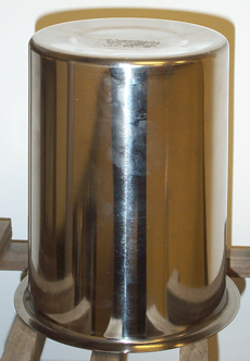 4.25 QT SMALL FLAT BOTTOM CYLINDER