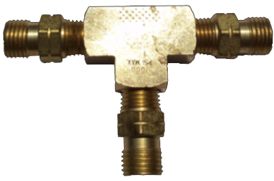 "3-Way Male ""T"" Adapter (Propane)"