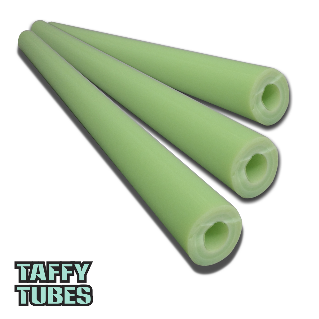 Taffy Tubes Green Slyme Tubing 2nds