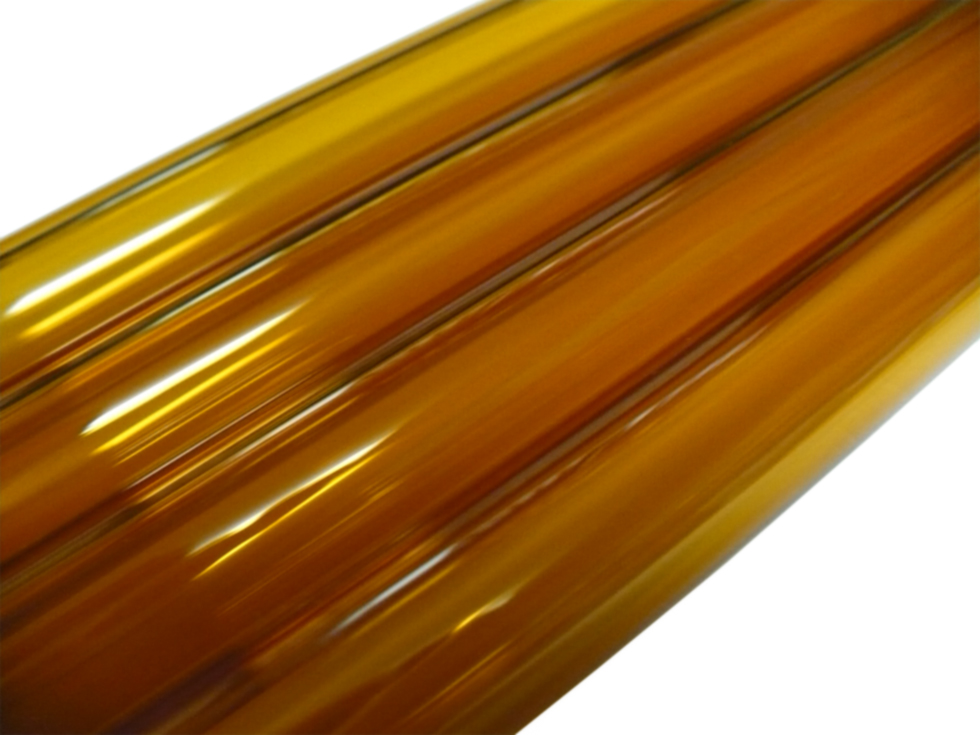 Asian 12mm Amber Yellow Tubing