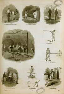 """""""Glassworking and glassblowing"""" by William Barclay Parsons Collection - New York Public Library Archives. Licensed under Public domain via Wikimedia Commons"""