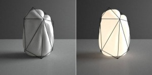 geometric bubble with light 2